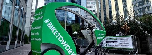 Paris La Défense s'est mis au vélo
