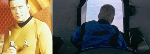 «Est-ce cela la mort ?» L'émotion du capitaine Kirk après ses trois minutes de voyage spatial