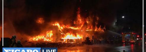 Taïwan : 46 morts et 41 blessés dans l'incendie d'un immeuble