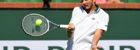 Tennis : Medvedev déclare forfait pour le tournoi de Moscou