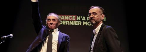Présidentielle : Robert Ménard «implore» Éric Zemmour et Marine Le Pen d'unir leurs candidatures en février