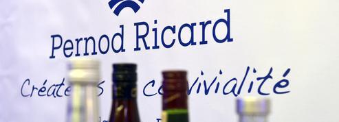 Pernod Ricard annonce un chiffre d'affaires en hausse de 22% sur le trimestre