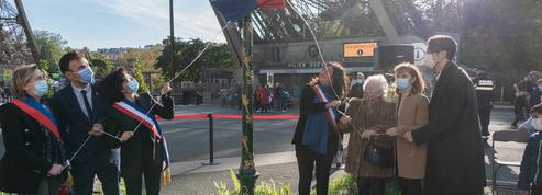 L'Esplanade des ouvriers de la Tour Eiffel inaugurée en hommage à ceux qui l'ont bâtie