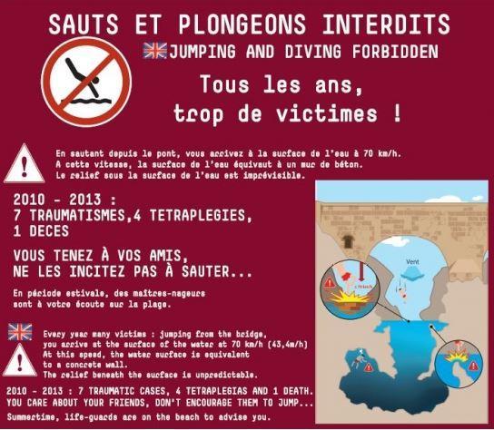 Hérault: un ado victime d'un accident de plongeon