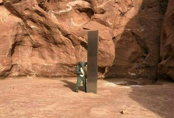 États-Unis: le mystérieux monolithe a été emporté dans une brouette