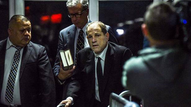 Harvey Weinstein, ce lundi 6 janvier pour le premier jour de son procès à New York.