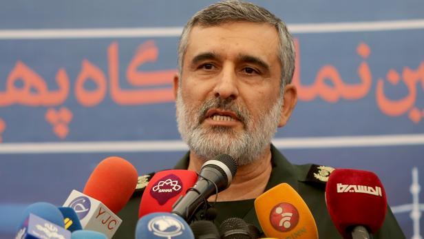 Amir Ali Hajizadeh à Téhéran, le 21 septembre 2019.