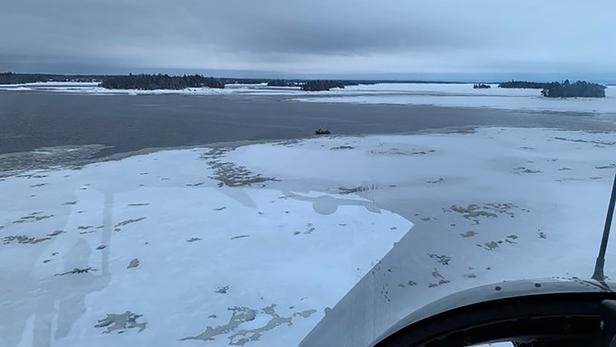 Le drame a eu lieu à l'est du lac Saint-Jean.