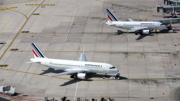 Des avions Air France sur le tarmac de Roissy-Charles de Gaulle