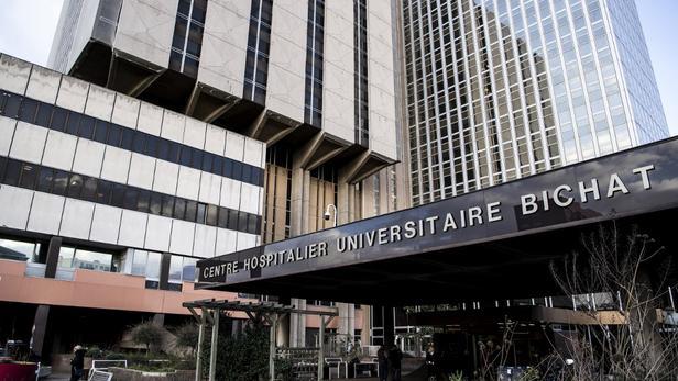 L'hôpital Bichat à Paris, où le patient chinois atteint du coronavirus est décédé.
