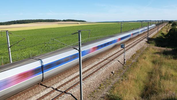 Un TGV lancé à pleine vitesse (photo d'illustration).
