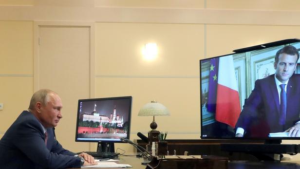 Під час розмови президент Росії Володимир Путін вислов співчуття з приводу нещодавнього теракту / Sputnik Photo Agency