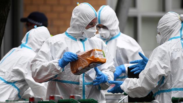 Coronavirus: Melbourne, la deuxième ville d'Australie, à nouveau confinée