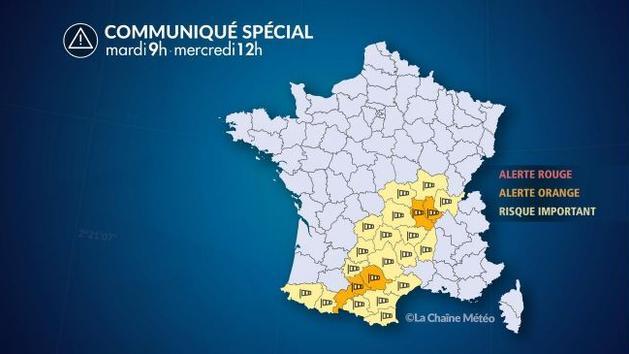Des vents violents attendus dans les Pyrénées, le Massif-Central et la vallée de la Saône