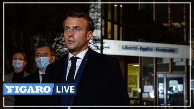 Islamisme : Macron annonce la dissolution du collectif «Cheikh Yassine» et promet «d'intensifier» les actions