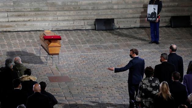 EN DIRECT - Hommage à Samuel Paty : les moments forts de la cérémonie