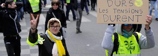 23e samedi des «gilets jaunes» : déjà des arrestations à Paris