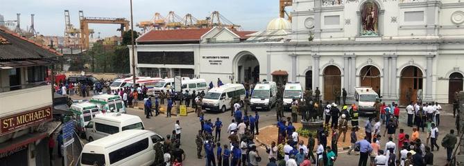 Sri Lanka : multiples explosions dans des hôtels et des églises