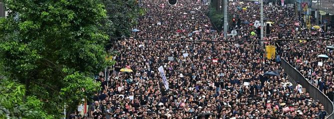 Nouvelle manifestation géante à Hong Kong
