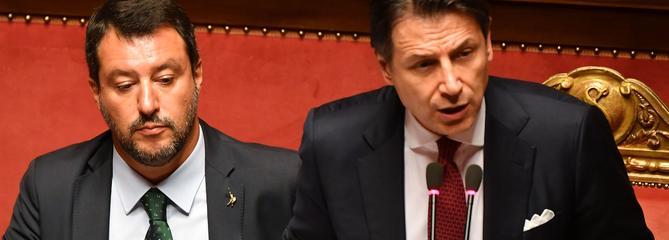 Le premier ministre italien Giuseppe Conte a démissionné