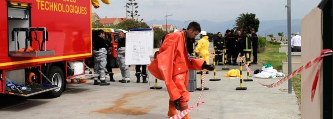 Incident sur une cuve de chlore à Ajaccio : 15 personnes incommodées