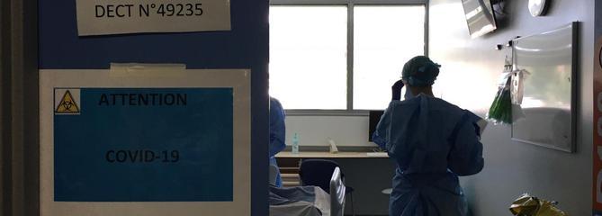 «On sent l'orage arriver» : à Strasbourg, les médecins se préparent à affronter la 4e vague de Covid-19