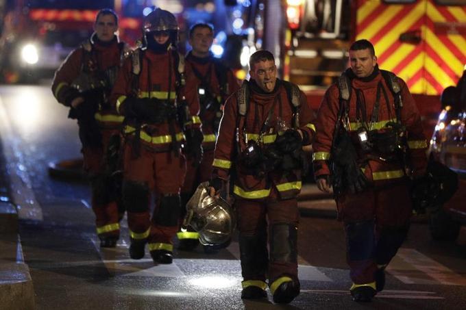 Des dizaines de pompiers ont été mobilisés.
