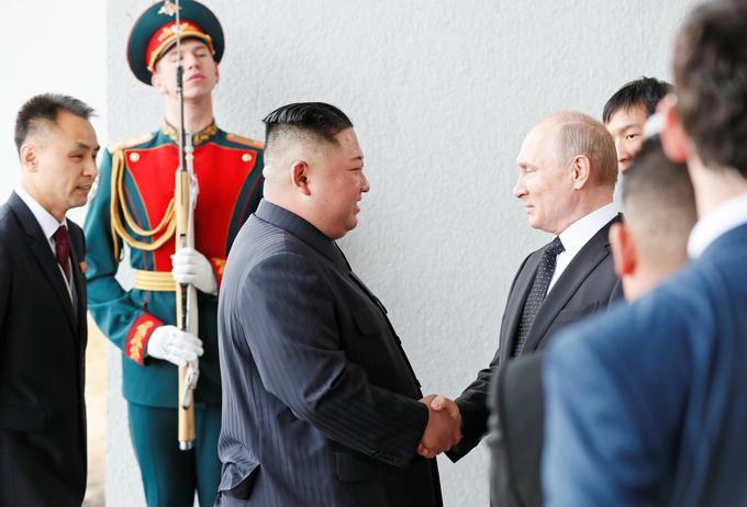 Kim Jong-un et Vladimir Poutine se sont rencontrés en Russie ce jeudi.