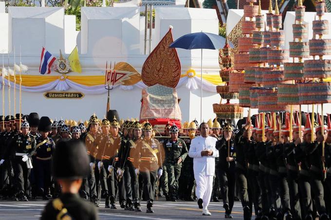 La monarchie est considérée comme sacrée en Thaïlande.