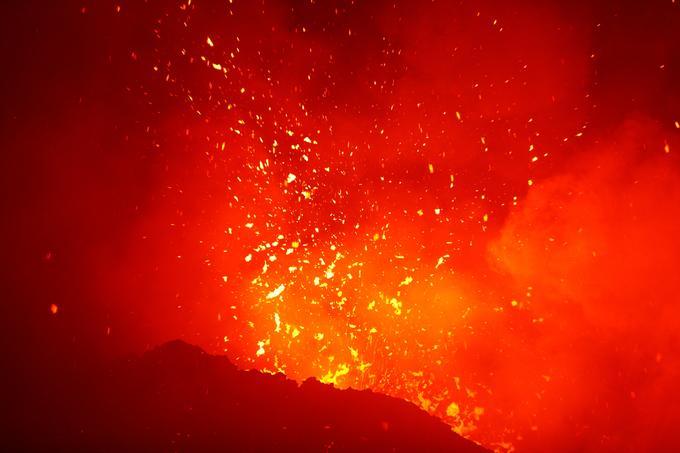 L'éruption de l'Etna a commencé jeudi.