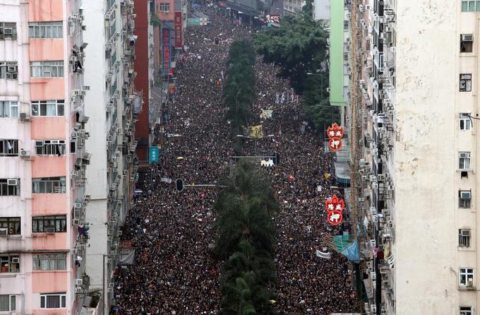 Dimanche 16 juin à Hongkong