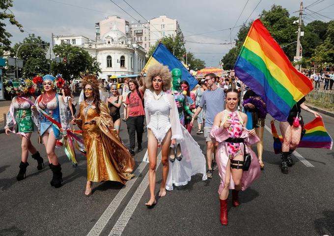 L'homophobie est encore largement présente en Ukraine.