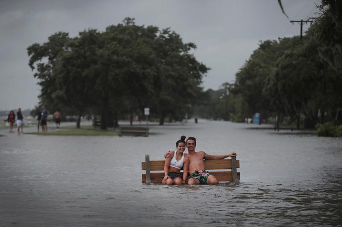 Les risques d'inondation sont importants après le passage de la tempête tropicale Barry.