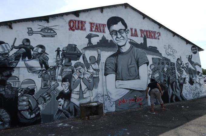 Une fresque en hommage à Steve Maia Caniço