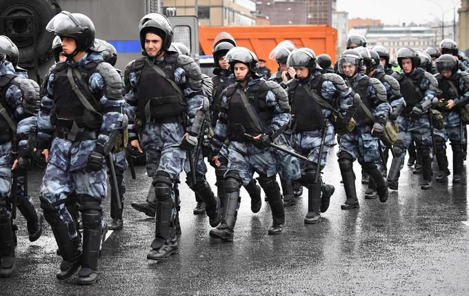 Des dizaines de manifestants auraient été arrêtés samedi, d'après le réseau d'information OVD-Info.