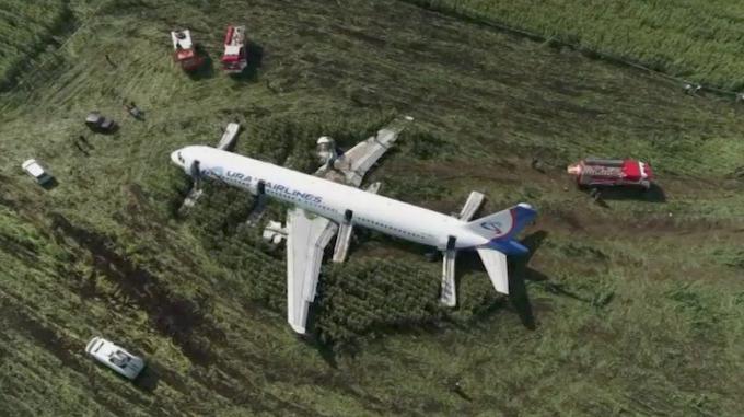 Les 233 passagers sont sains et saufs.