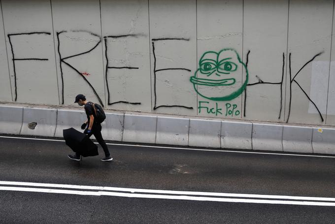 Dans les rues de Hongkong