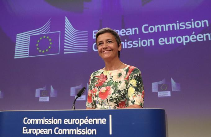 Margrethe Vestager reste commissaire européenne à la Concurrence.