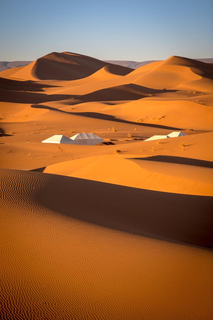 dunes de l'erg Chegaga