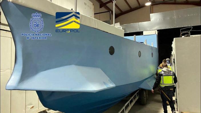 Espagne : saisie du premier « narco sous-marin » fabriqué en Europe