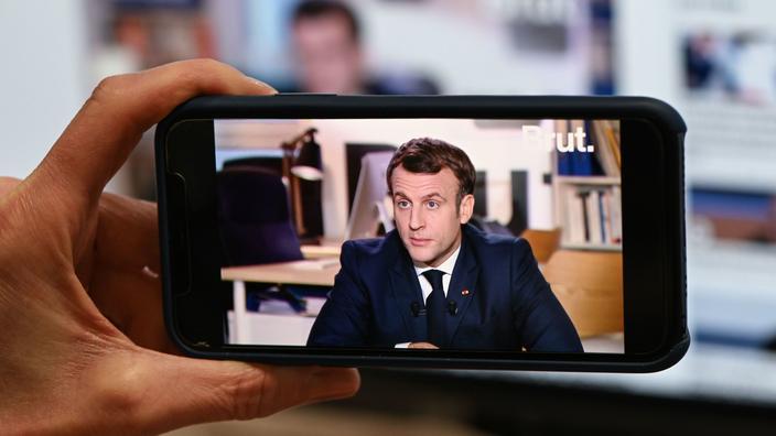 EN DIRECT - Emmanuel Macron admet des «violences policières» mais dénonce «un slogan»