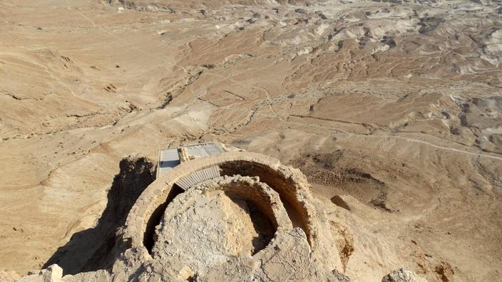 La cour du trône d'Hérode, où Salomé aurait demandé la tête de Jean-Baptiste, a été retrouvée