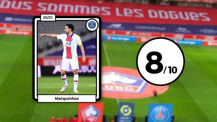 Les notes de Lille-PSG: Marquinhos monstrueux, Lille sans ses ailes