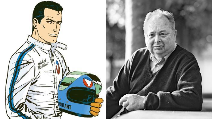Quand Jean Graton racontait Michel Vaillant, «superstar du volant»