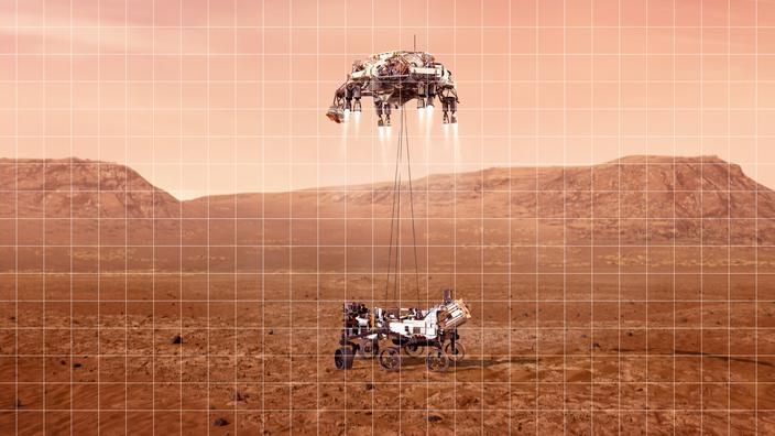 Les «7 minutes de terreur» avant l'atterrissage de la mission Mars 2020 - Le Figaro