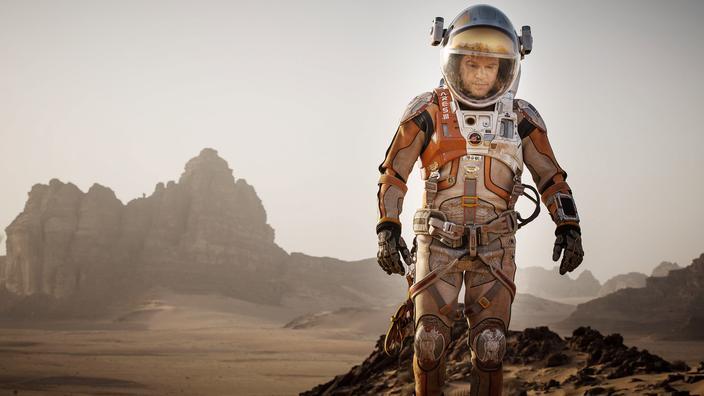 Matt Damon star malgré lui de l'atterrissage du rover Perseverance sur Mars - Le Figaro