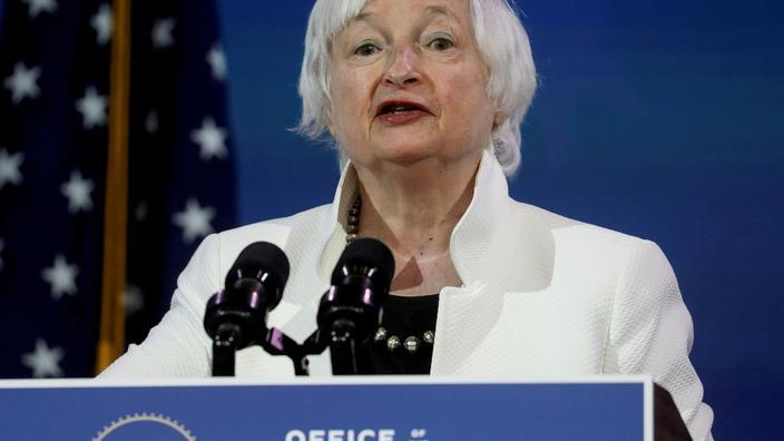 Le bitcoin est «extrêmement inefficace», selon Janet Yellen - Le Figaro