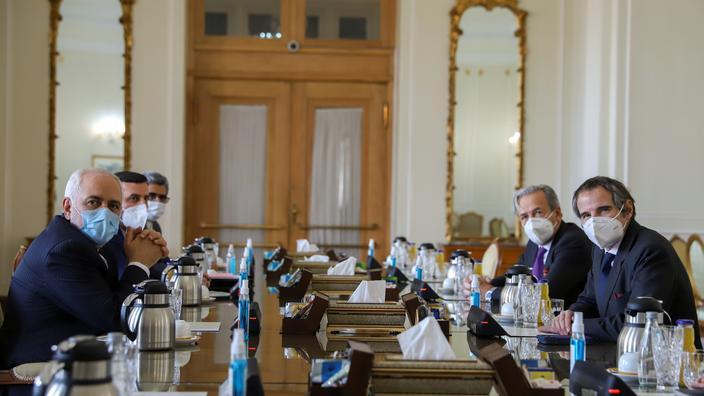 Nucléaire: Iran et AIEA trouvent un accord «temporaire» - Le Figaro