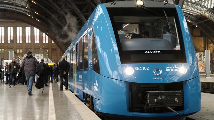Le Centre-Val-de-Loire veut tester en septembre le train à hydrogène d'Alstom - Le Figaro