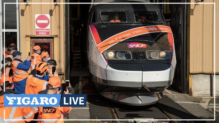 Pour ses 40 ans, la SNCF ressort la rame du TGV qui avait battu un record de vitesse en 1981 - Le Figaro